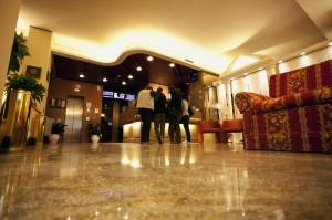 Hall del business hotel Augustus a Ottaviano, vicino Napoli