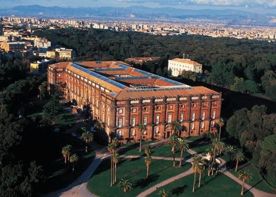 Il museo e il parco di Capodimonte a Napoli