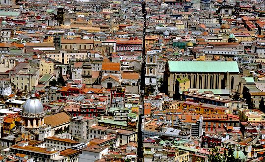 Spaccanapoli, a Napoli